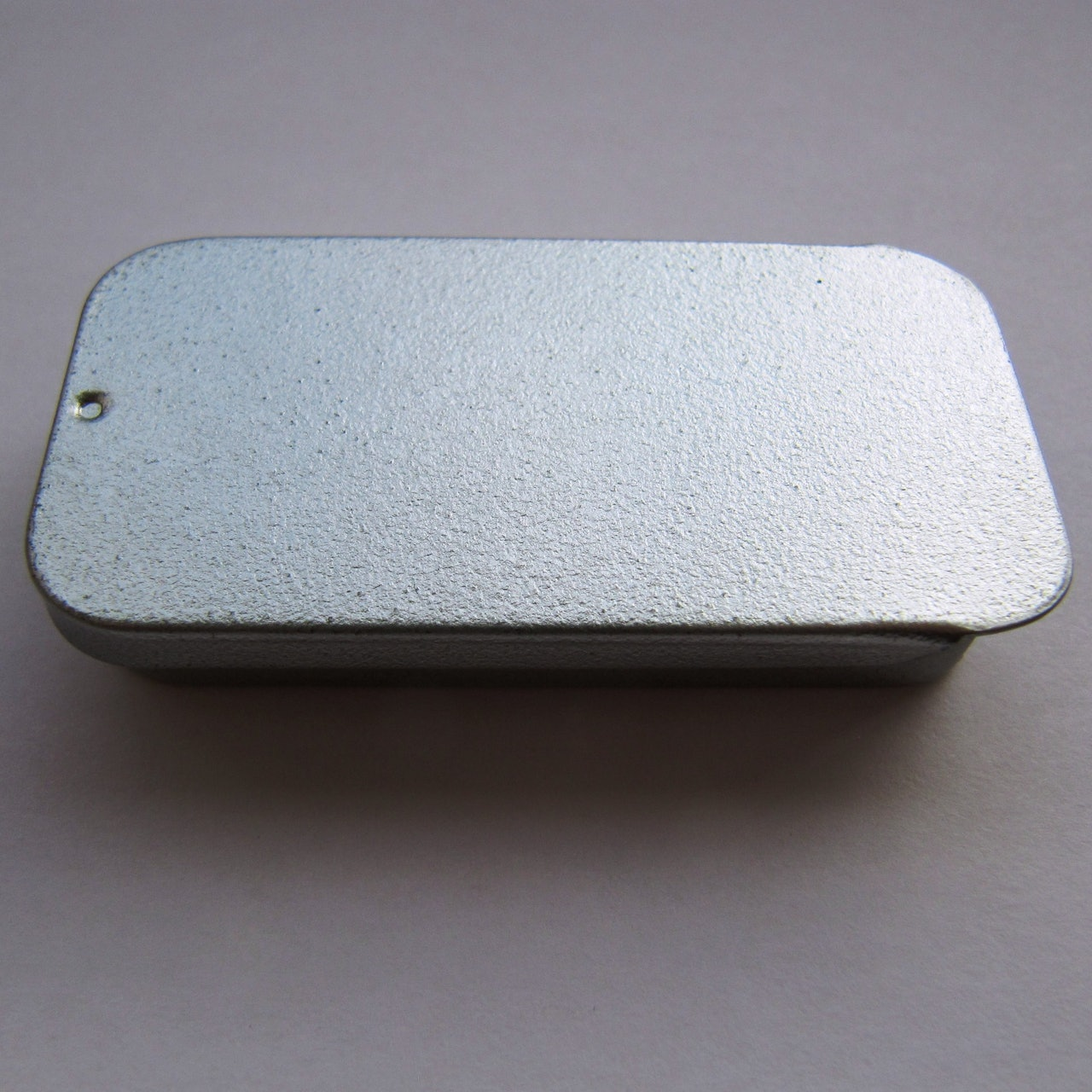Rectangular Tin with Sliding Lid