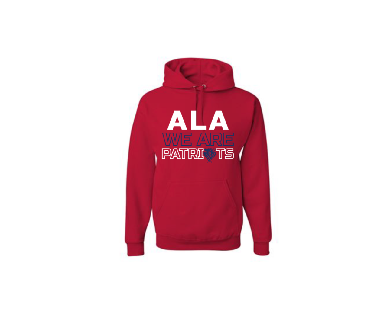 Adult ALA we are Patriots Pullover Hoodie