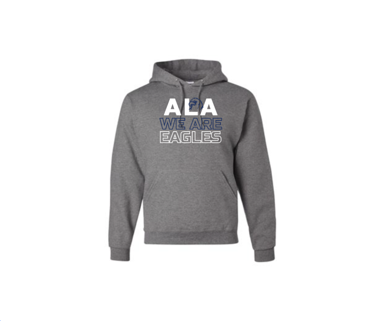 Adult ALA we are Eagles Pullover Hoodie