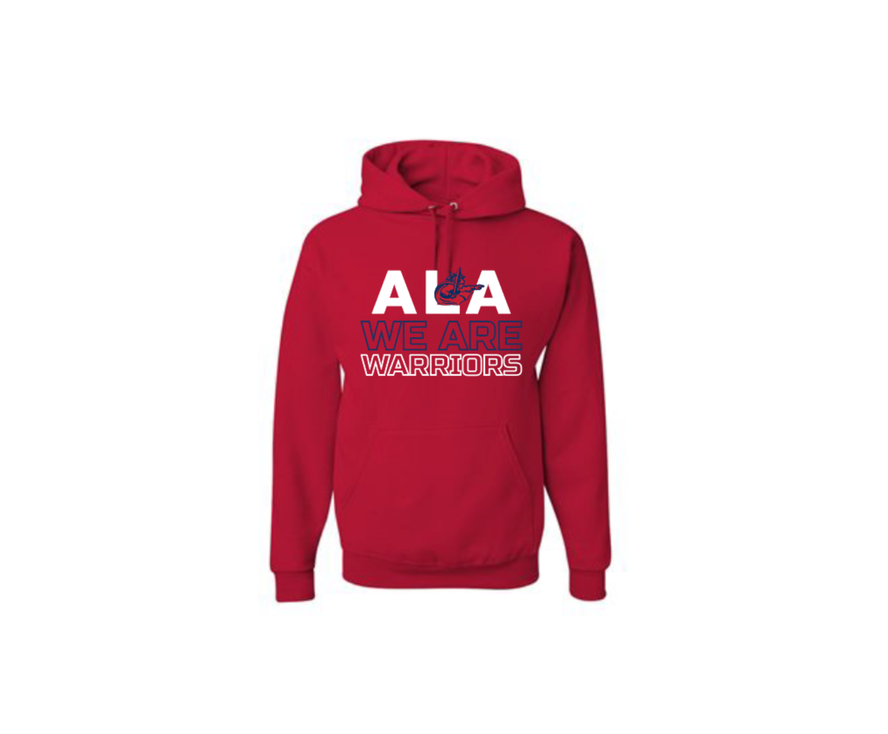 Adult ALA we are Warriors Pullover Hoodie