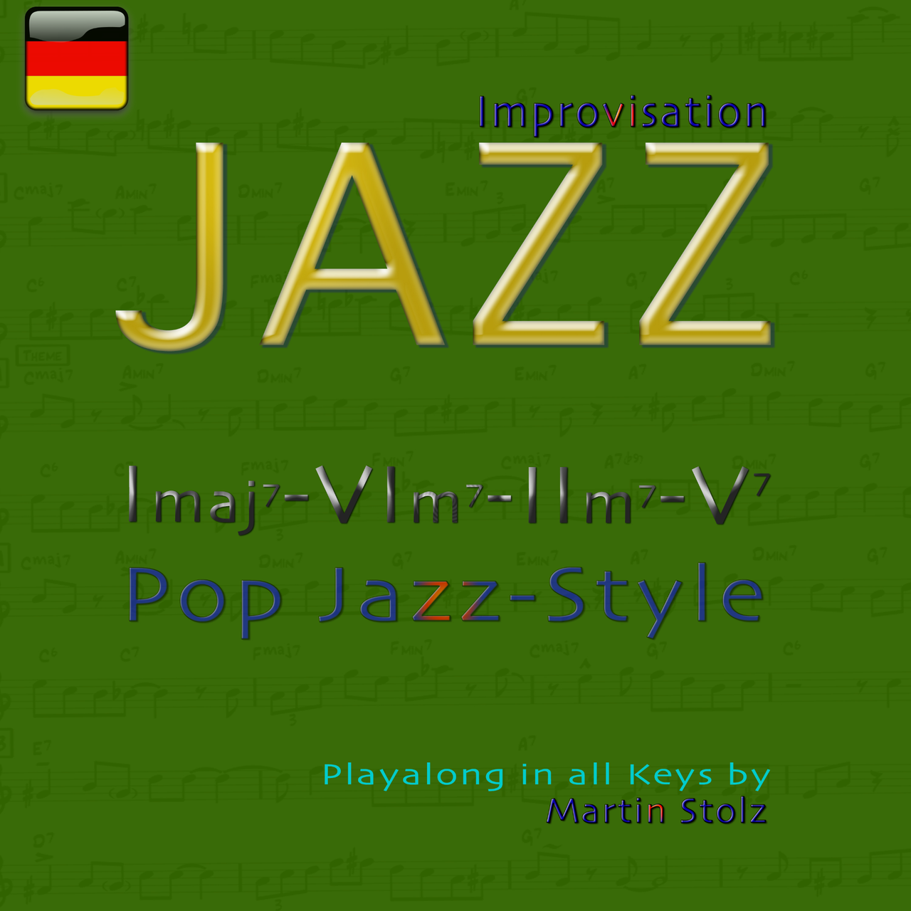 Imaj7-VIm7-IIm7-V7 in Pop Jazz Style de