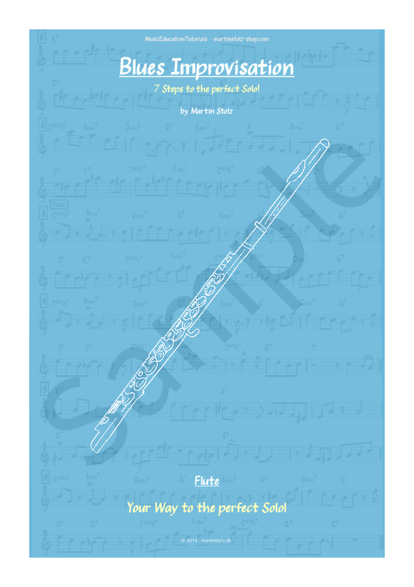 Blues in F · Flute · 7 Steps to the perfect Blues-Solo!