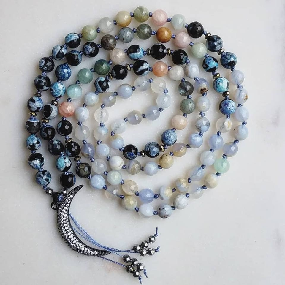 ​I Am Lifted UP | 108-Bead Mala (vegan)