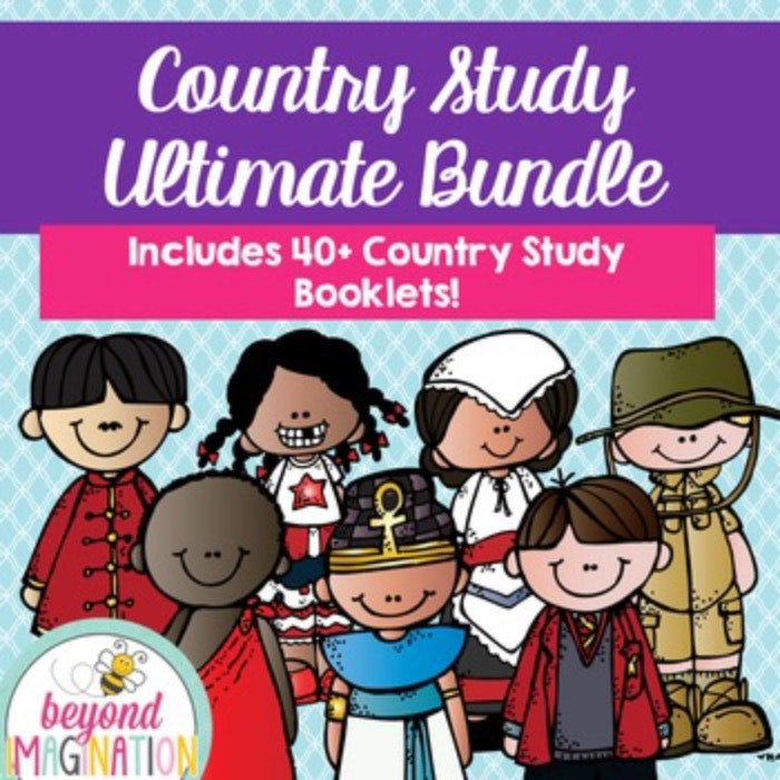 Ultimate Country Study Bundle