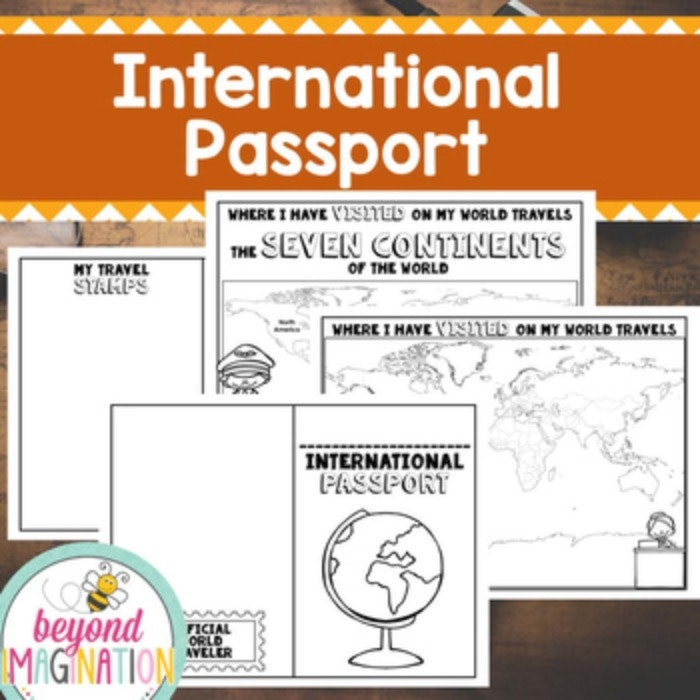 Free Play Passport for Little Learners