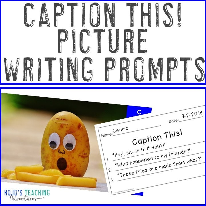 Caption This! Picture Writing Prompts