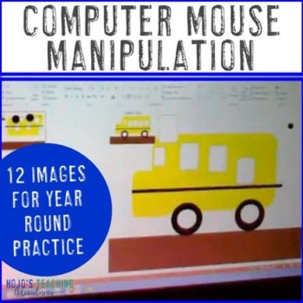 Computer Mouse Manipulation and Practice