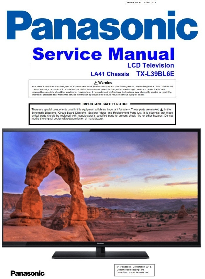 Lcd Tv Schematic Diagram Service Manual