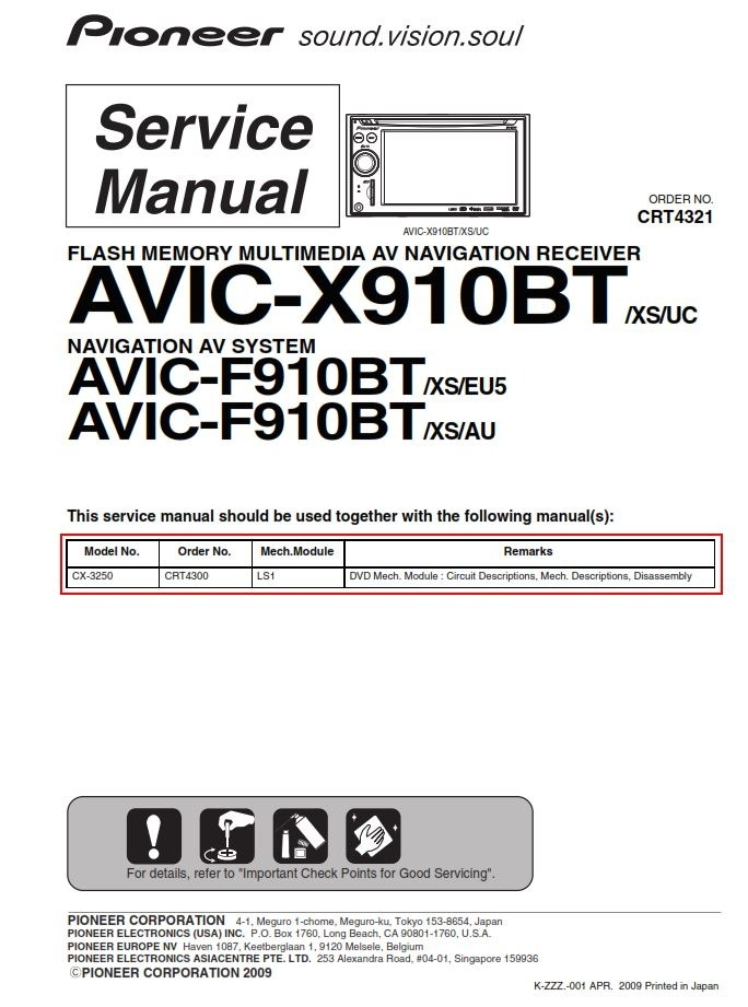Wiring Diagram Avic N1 Car Dvd Player