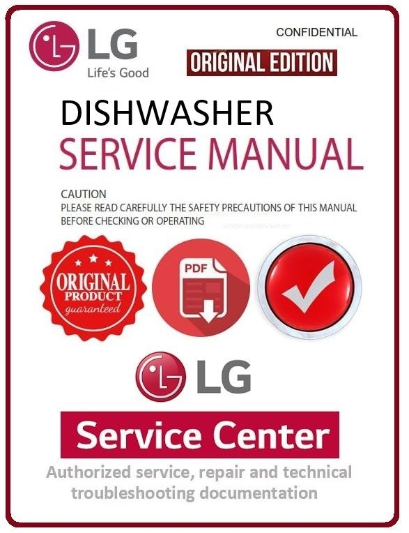 [DIAGRAM_38DE]  LG LDF9810ST LDF9810WW LDF9810BB Dishwasher Service Manual - ANY Service  Manual | Lg Ldf9810st Wiring Diagram |  | ANY Service Manual