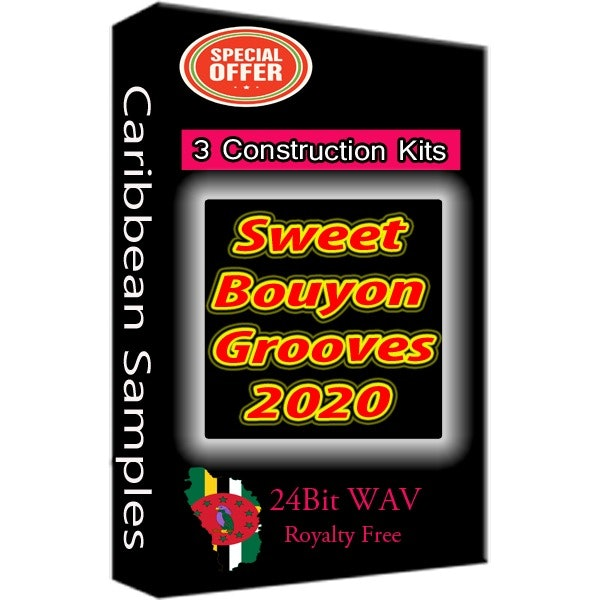 Bouyon Grooves 2020 Sample Pack/ 3 Construction Kits/Special offer Right Now