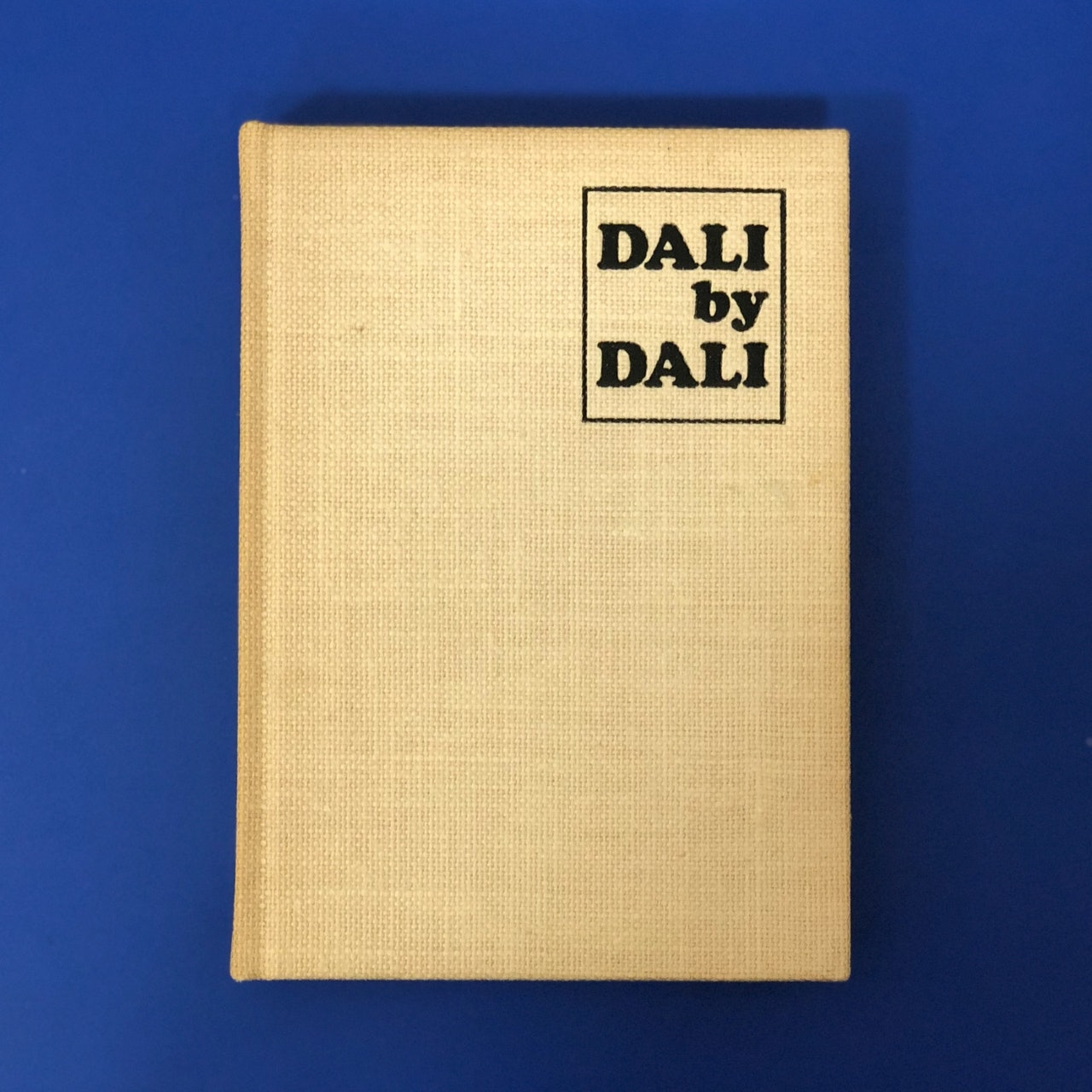 Book: Dali by Dali