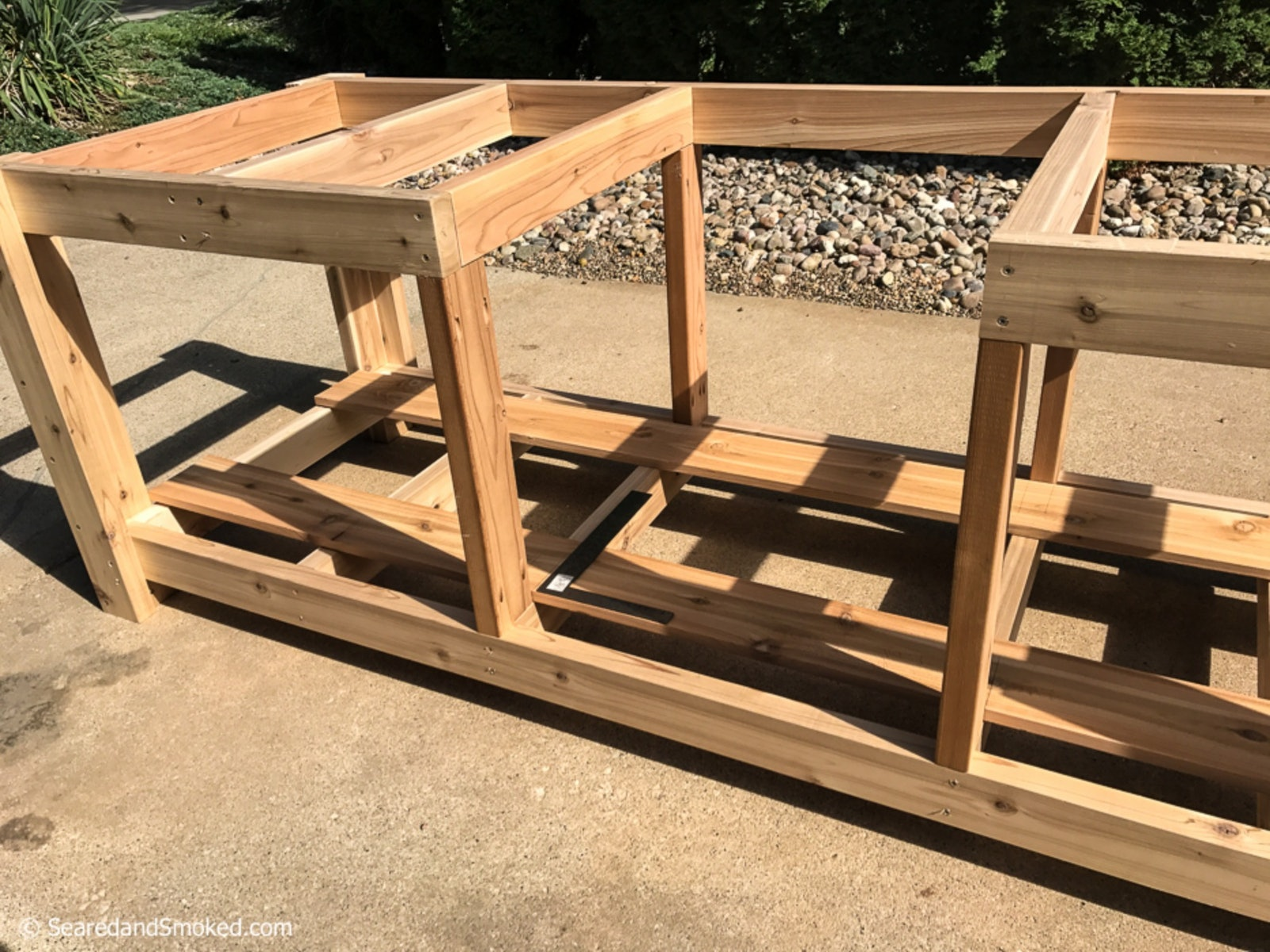 Build Your Own Kamado Grill Table - Kamado Grill Table Plans
