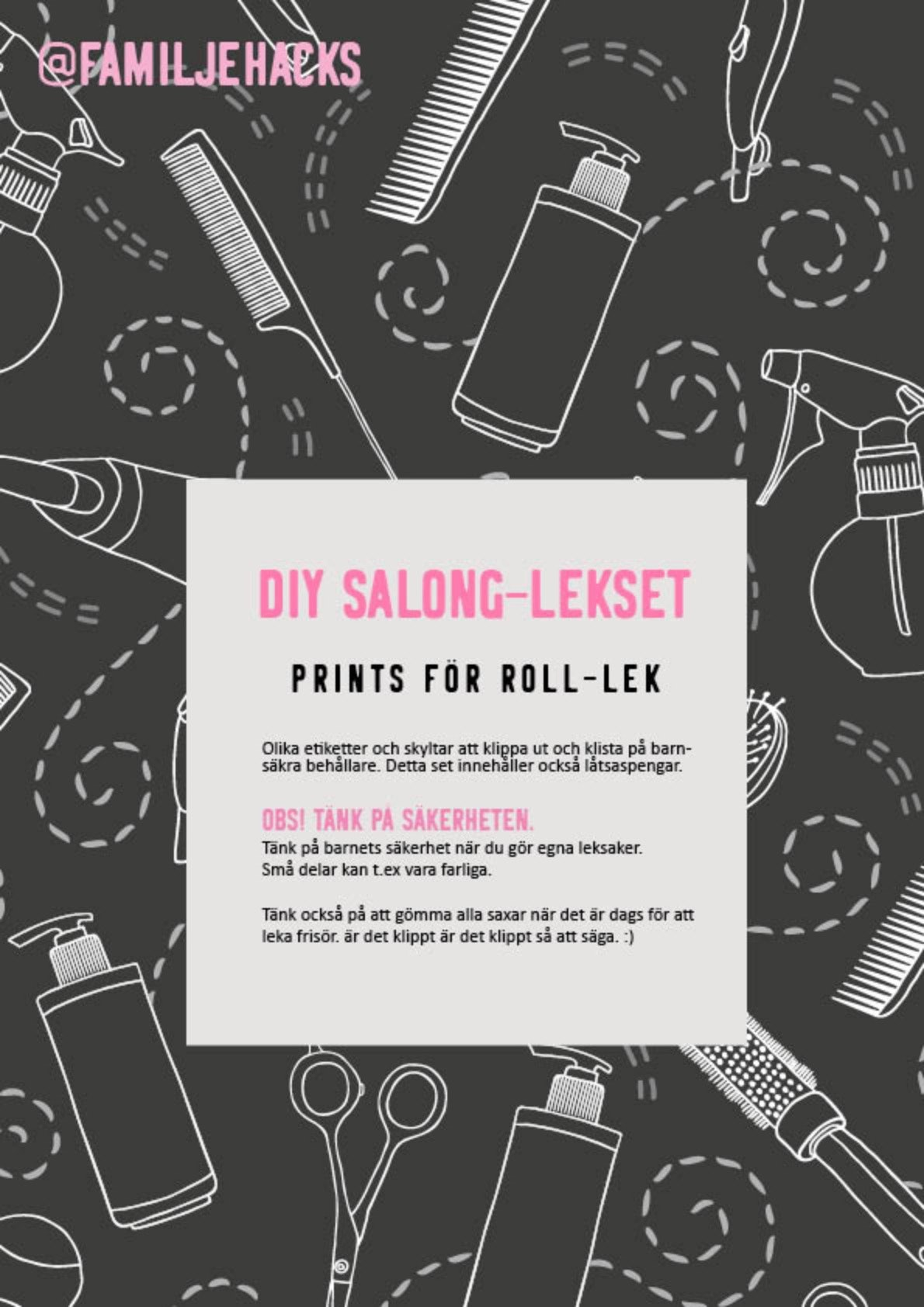 DIY Lekset Salong