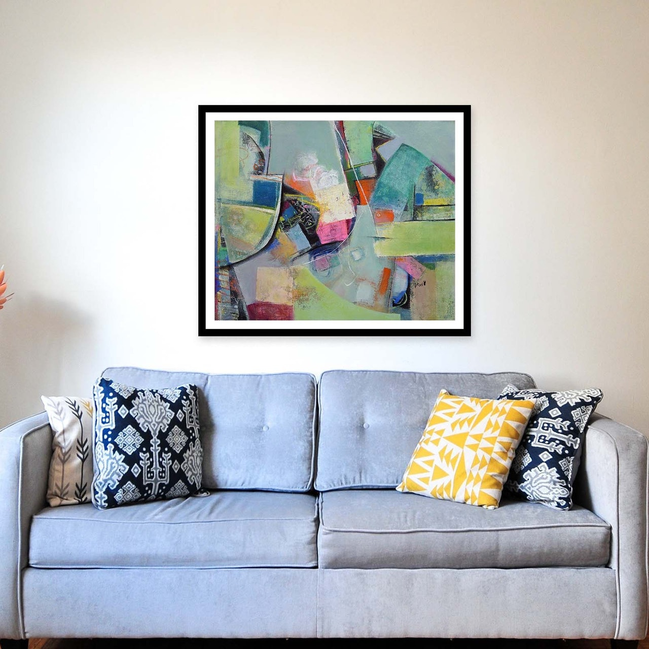 Abstract Expressionism Acrylic Canvas Painting