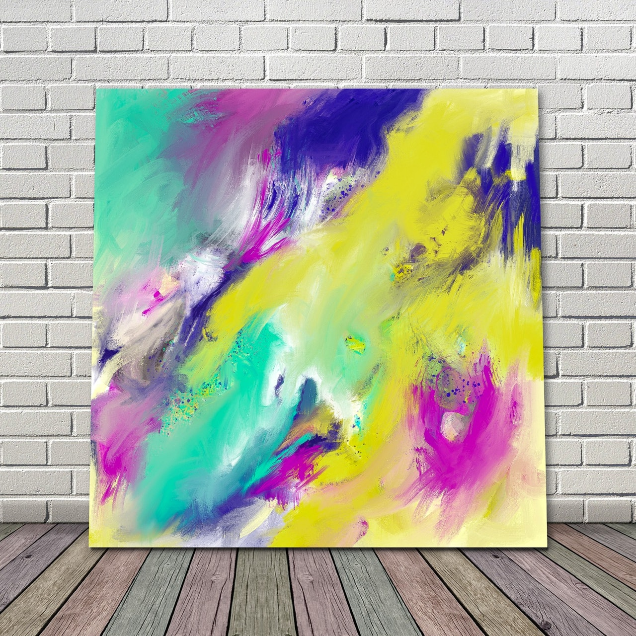 Pay What You Want Downloadable Abstract Painting