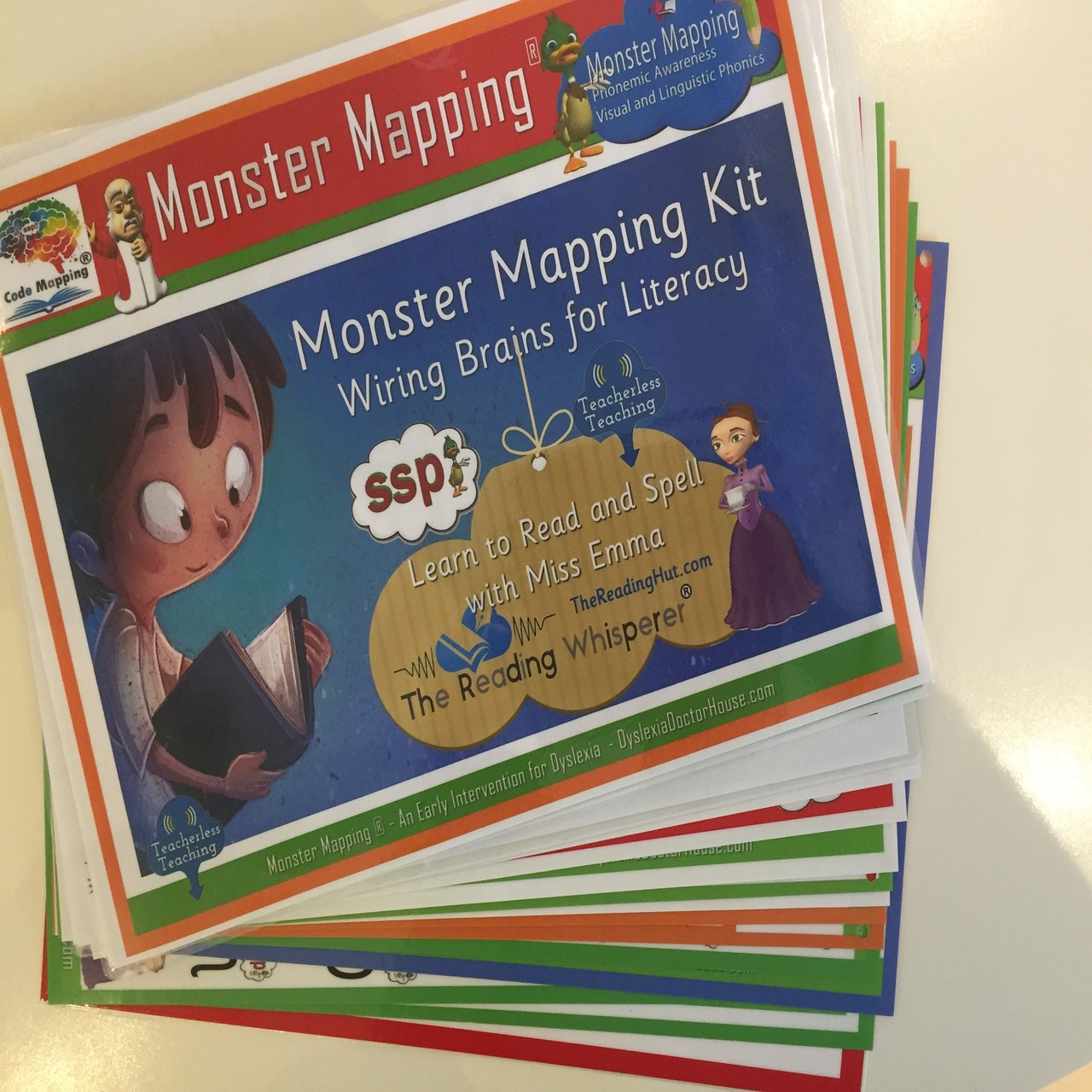 Monster Mapping Kit Handbook Only - Photocopiable Resources