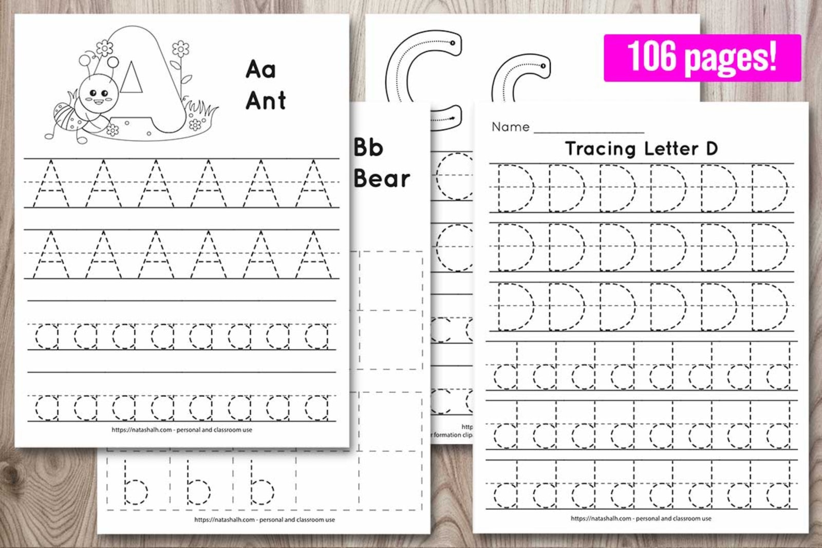Free Printable Letter M Tracing Worksheet M Is For Monkey The Artisan Life