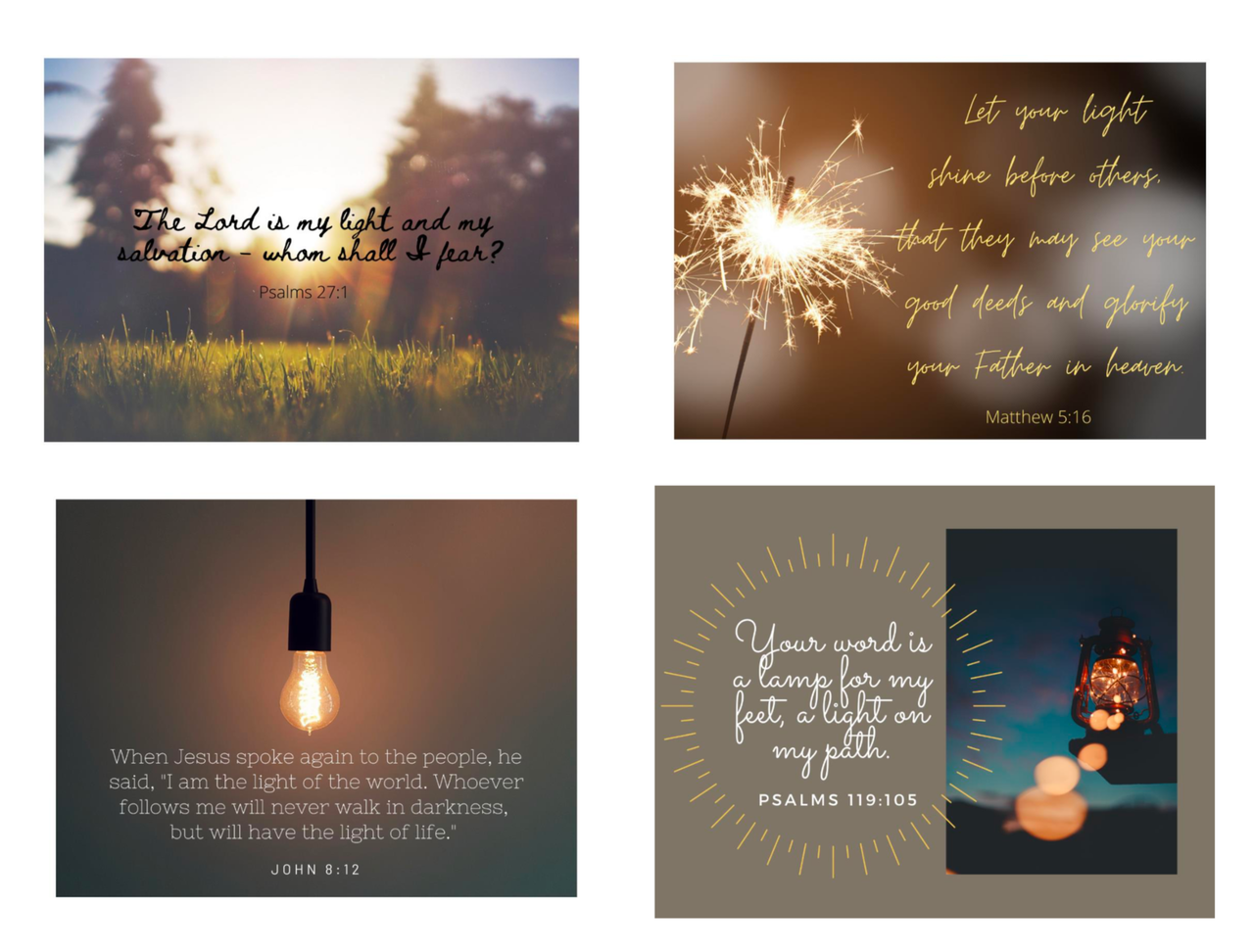 June Let There Be Light Free Scripture Printables