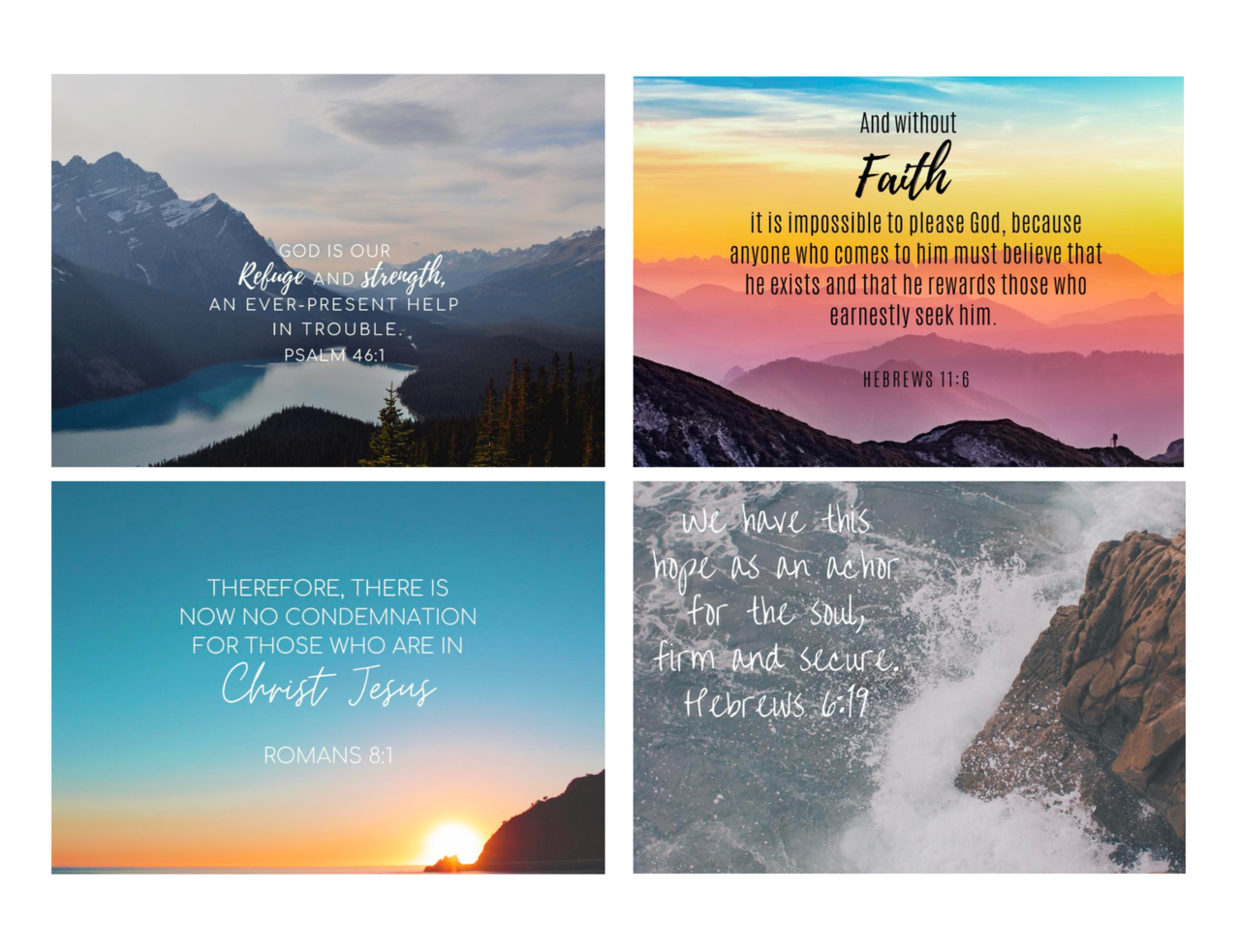 May Free Scripture Printables