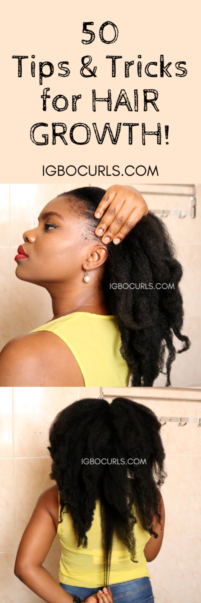 25 Natural Hair Growth Tips For Growing And Maintaing Natural Hair