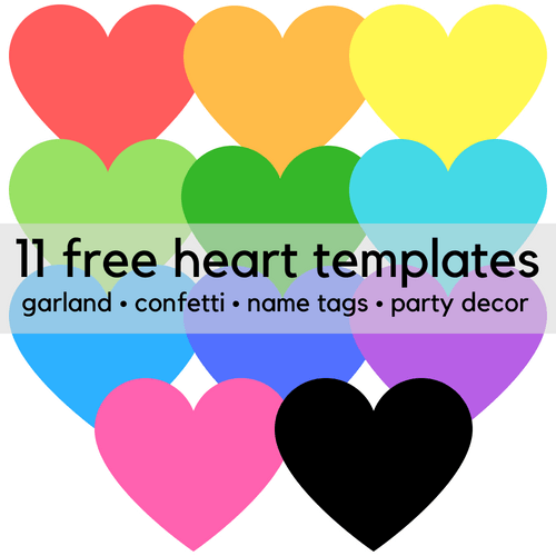 It's just a picture of Free Printable Heart Templates in sweetheart candy box