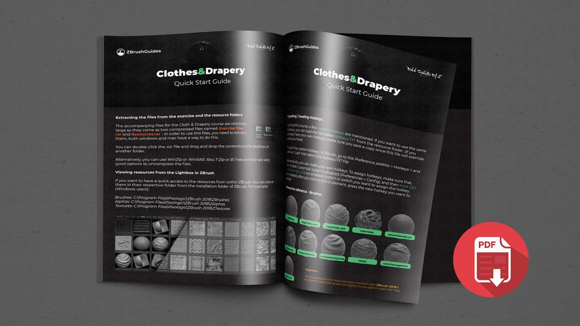 ZBrush Clothes and Drapery Course - Zbrush Guides
