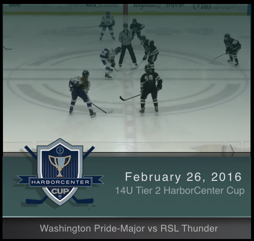 2/26/17 - 14U Tier 2 Washington Pride-Major vs RSL Thunder