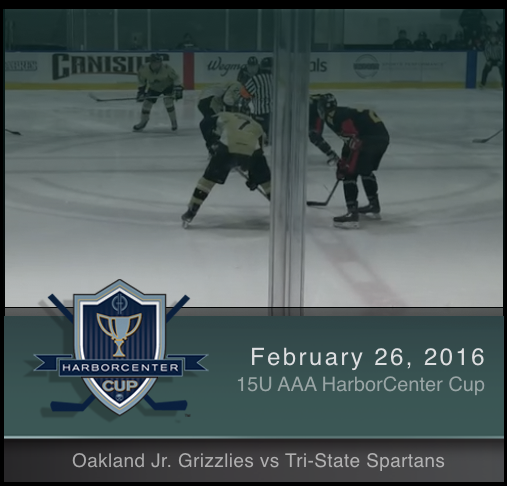 2/26/17 - 15U AAA Oakland Jr. Grizzlies vs Tri-State Spartans