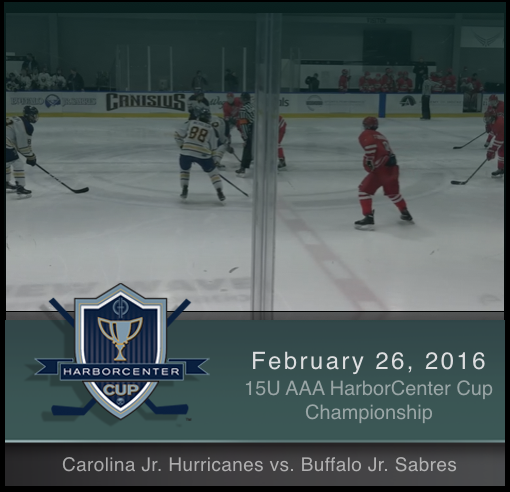 2/26/17 - 15U AAA Carolina Jr Hurricanes vs Buffalo Jr Sabres