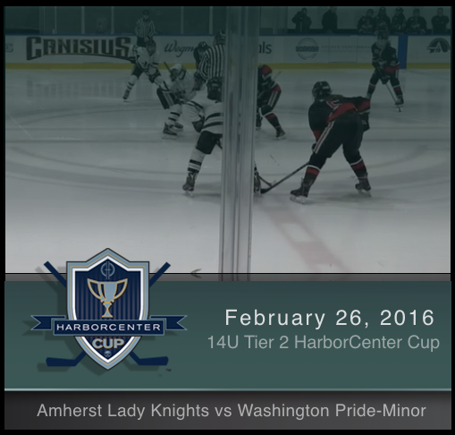 2/26/17 - 14U Tier 2 Amherst Lady Knights vs Washington Pride-Minor