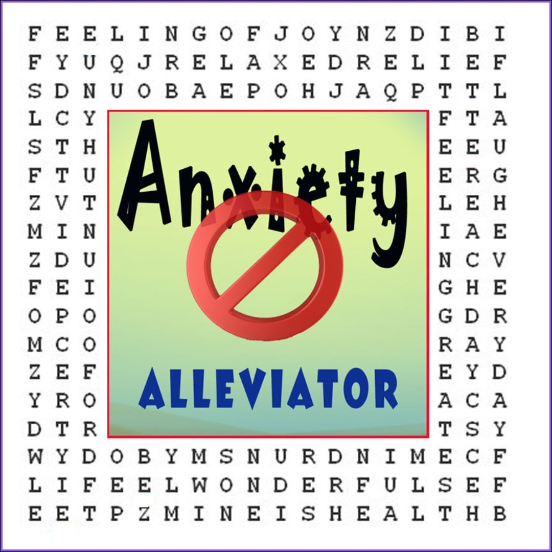 """Anxiety-Aleviator""  ♥ Hypnotic Word ♥ Puzzle"