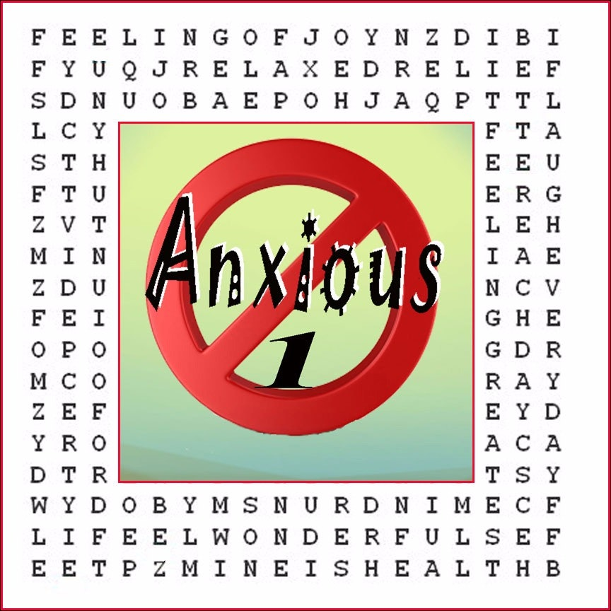 """""""Anxiety Eliminator"""" Hypnotic Word Puzzle #1"""