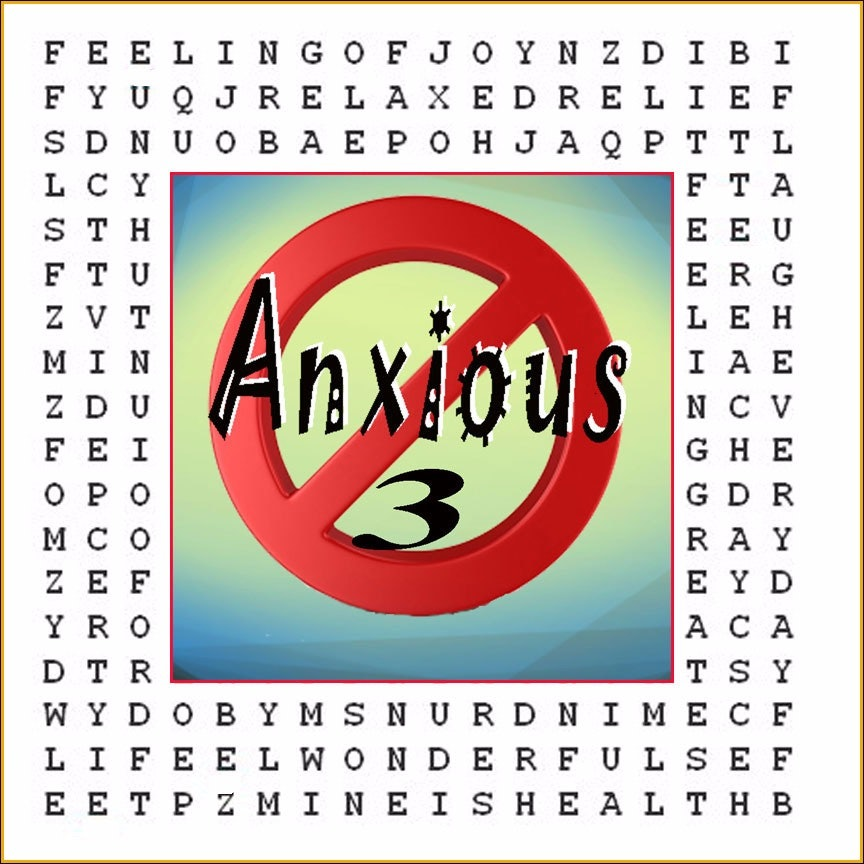 """""""Anxiety Eliminator"""" Hypnotic Word Puzzle #3"""