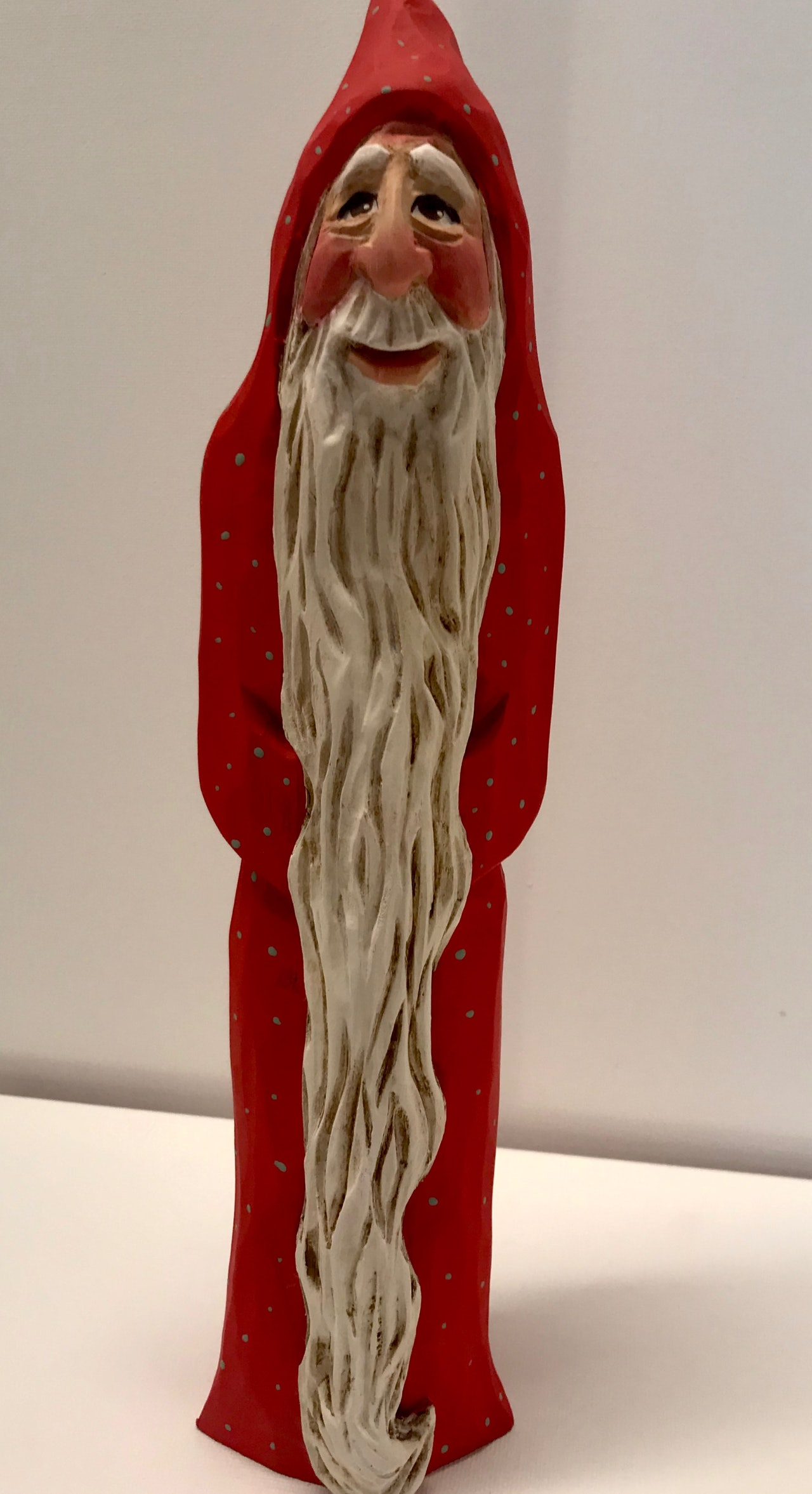 Tall Santa in Red