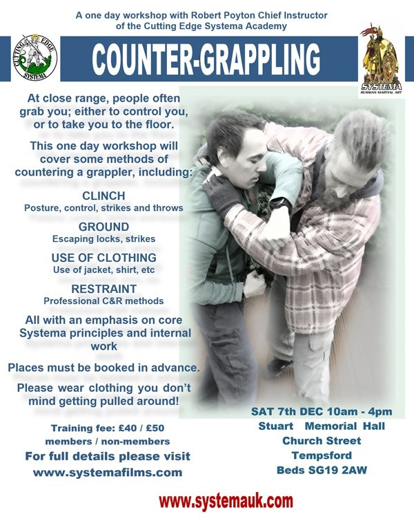 Counter Grappling  Workshop