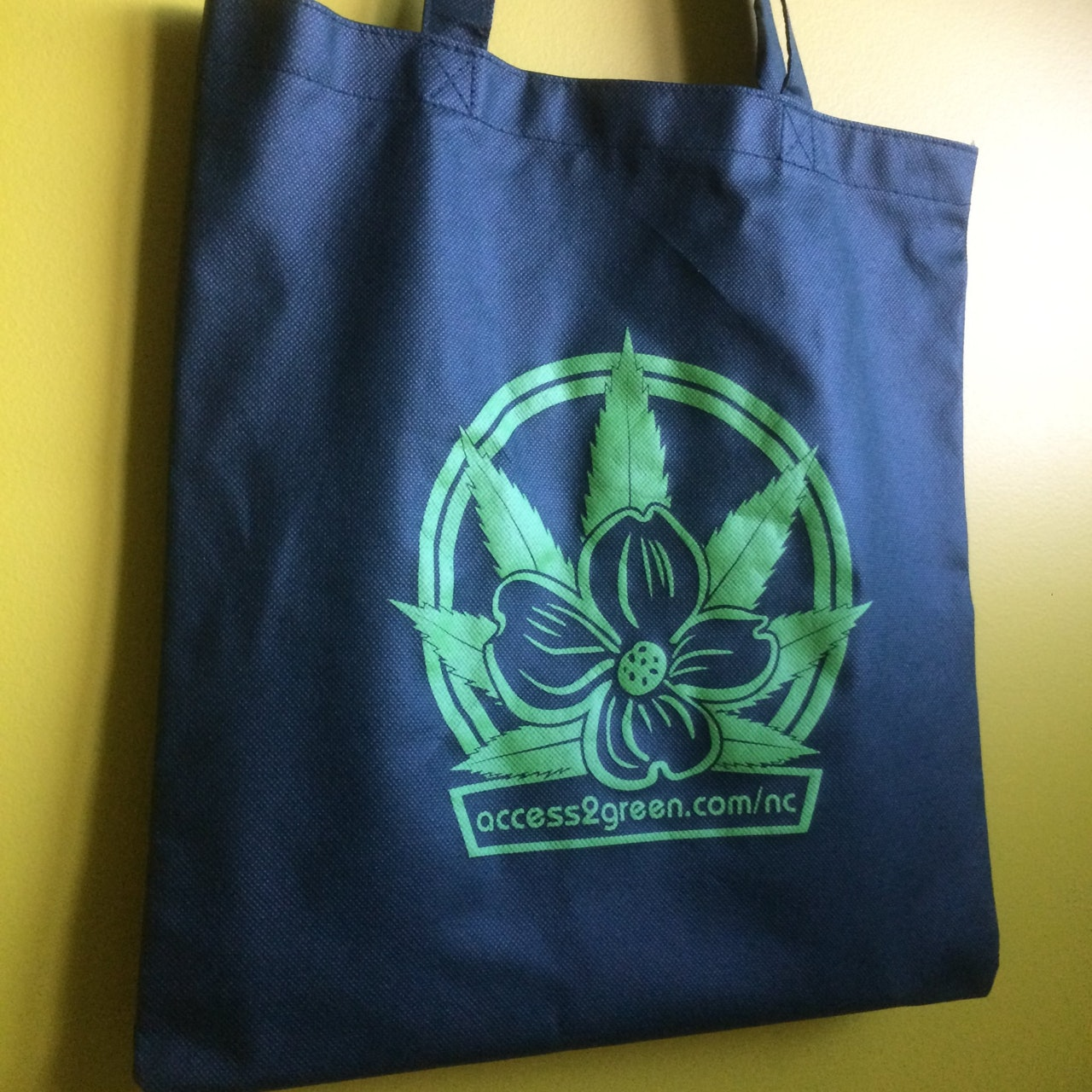 Green-on-Green Tote