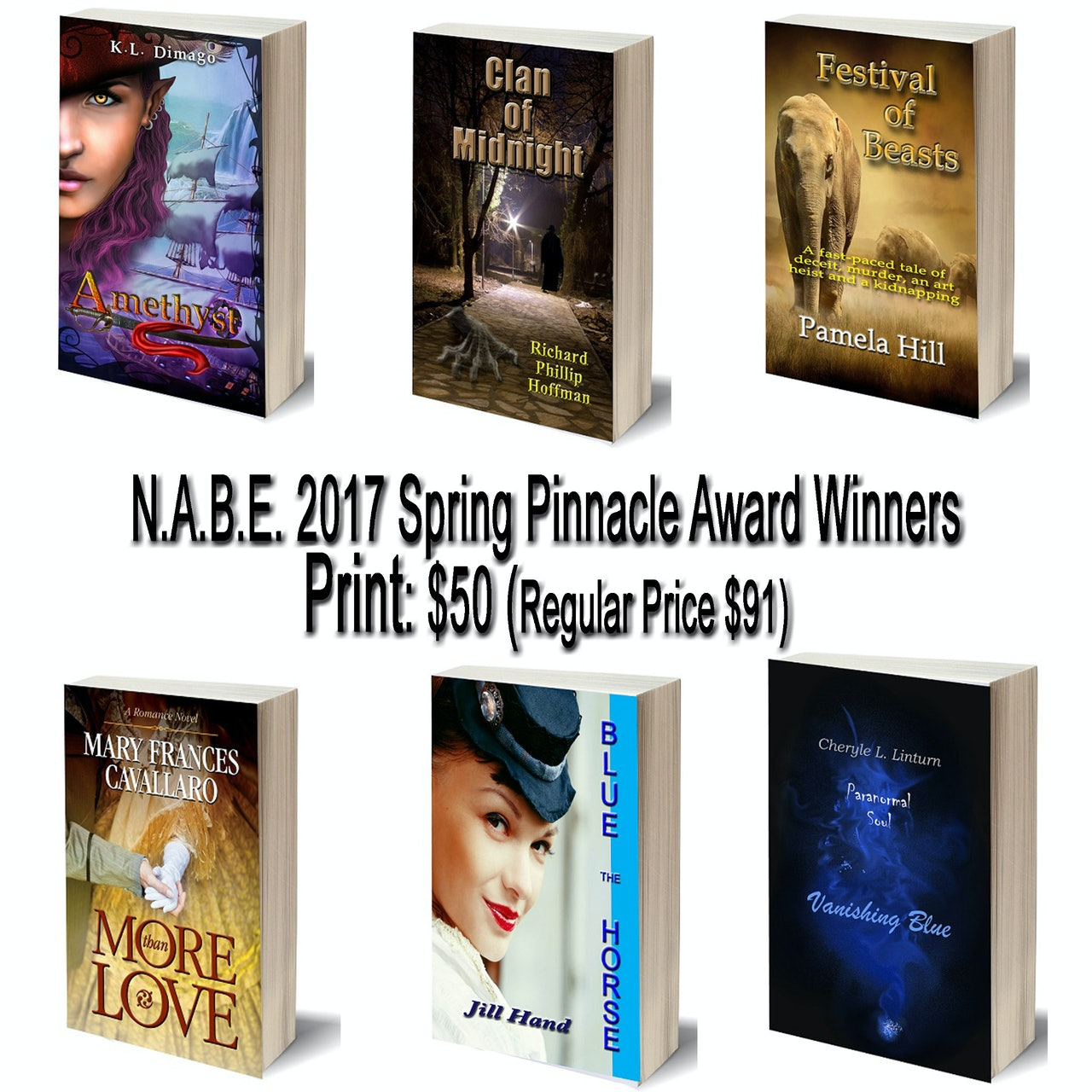 Paperbacks: 2017 Pinnacle Award Winners