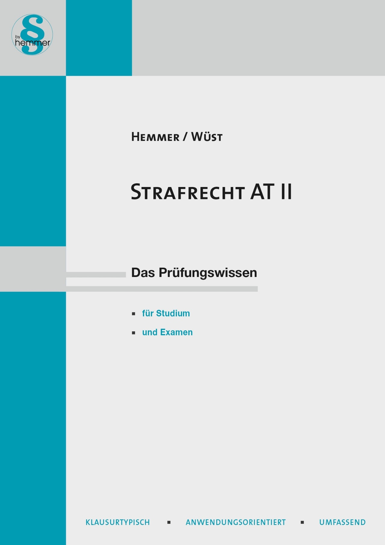 E-Book Strafrecht AT II - 14. Auflage 2020
