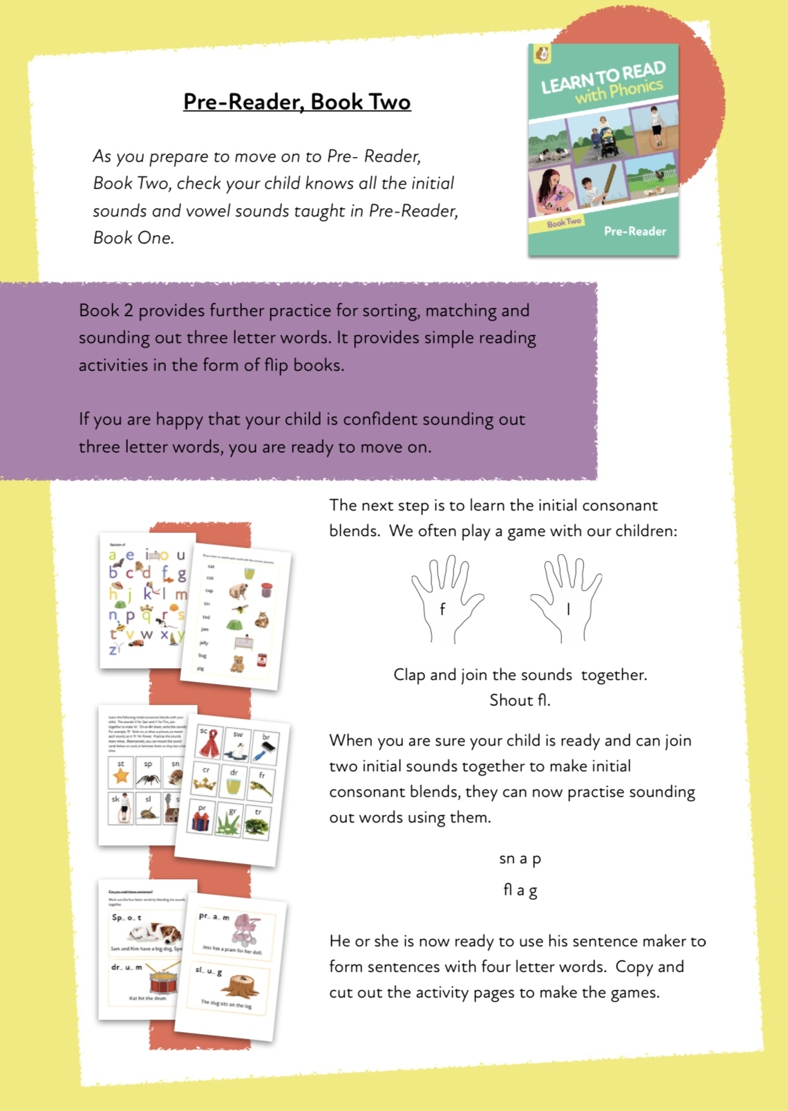 Progressing In Learning To Read With Phonics