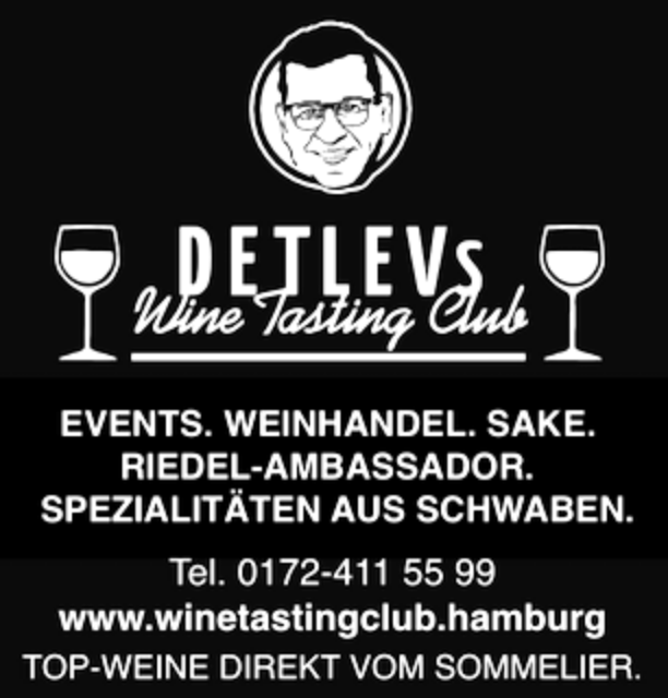 DETLEVs WINE TASTING CLUB - Detlev Heinrich Events