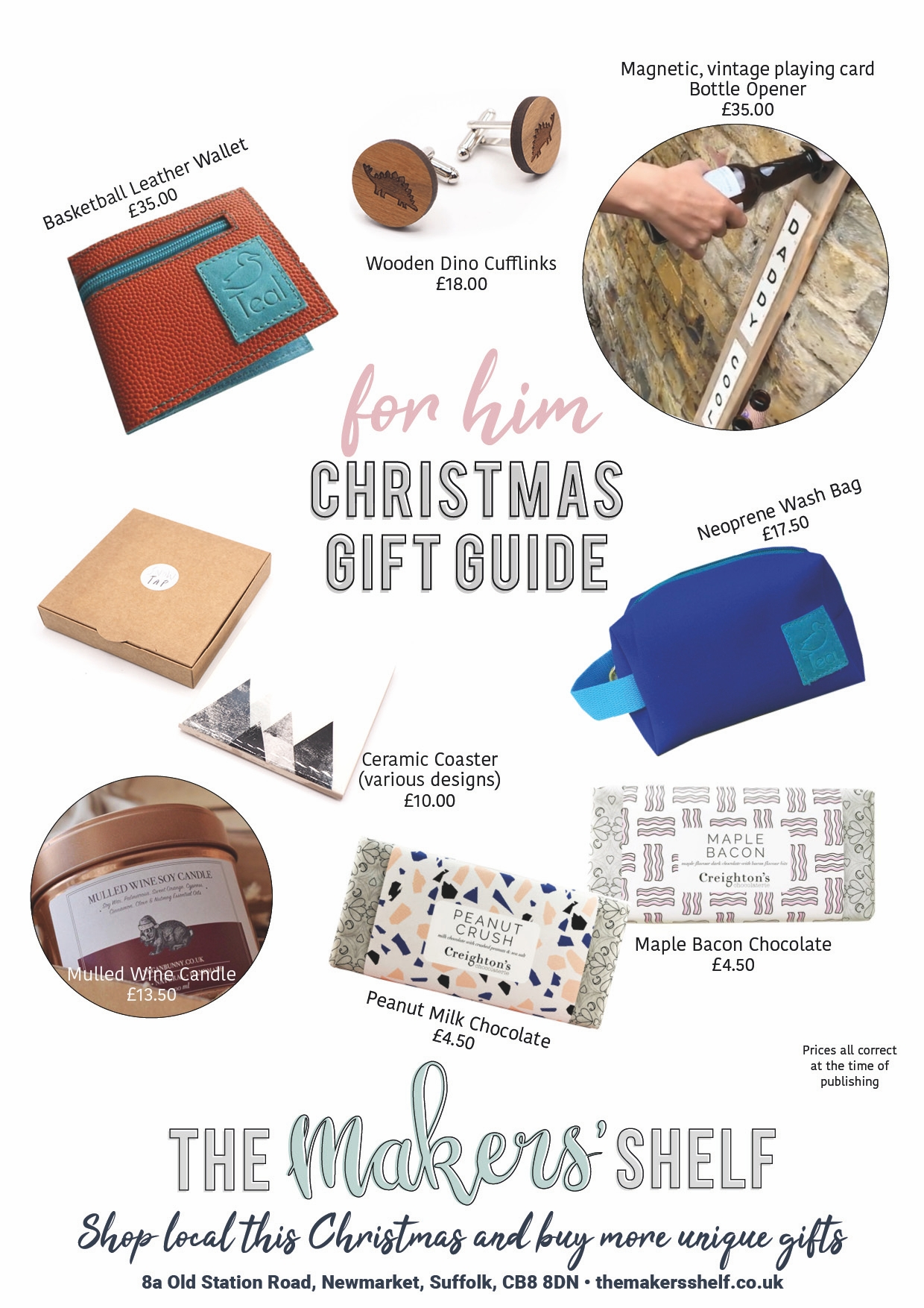 TMS GIFT GUIDE - FOR HIM