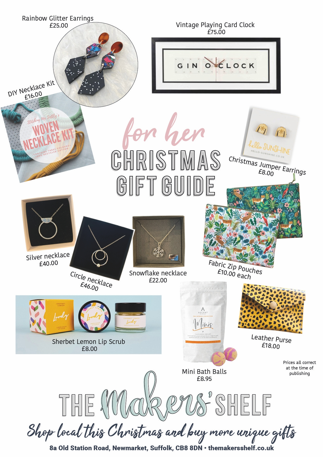 TMS GIFT GUIDE - FOR HER