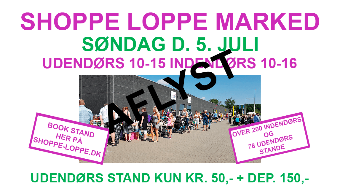 SHOPPE LOPPE Marked Aflyst