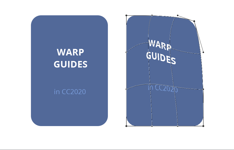 Free Skript to show inner guidelines in CC2020 warp