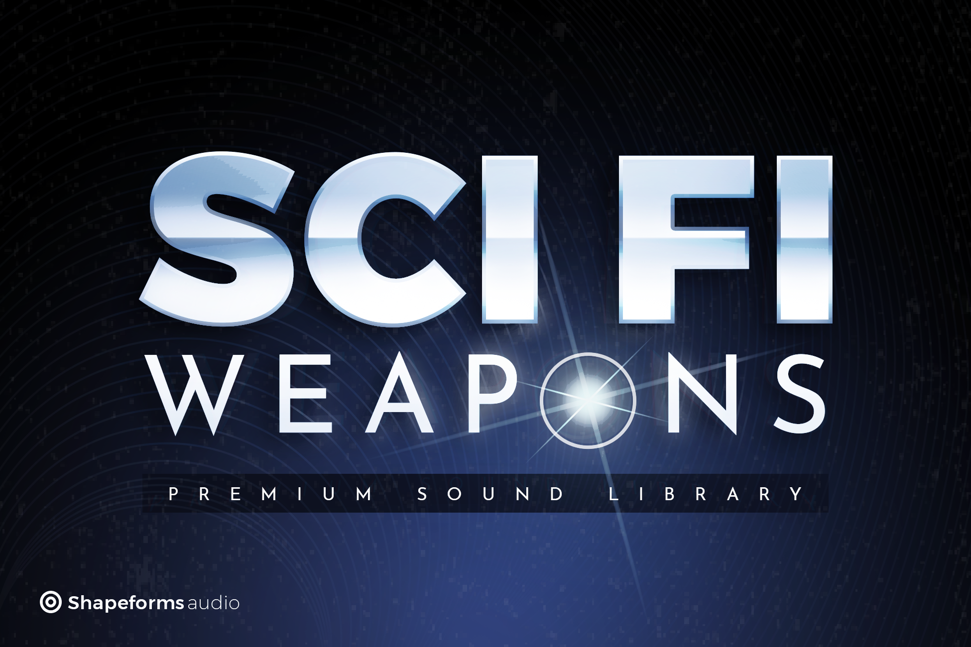 Shapeforms Audio Sci Fi Weapons